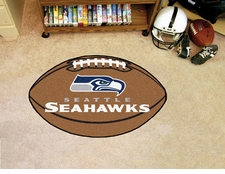 "Seattle Seahawks 22""x35"" Football Floor Mat"