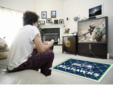 Seattle Seahawks 4'x6' Floor Rug