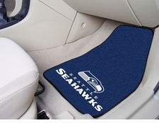 Seattle Seahawks Car Mats 2 Piece Front Set