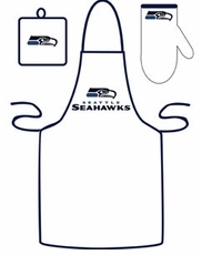 Seattle Seahawks Cooking / Grilling Apron Set