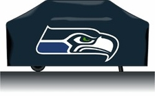 Seattle Seahawks Deluxe Barbeque Grill Cover