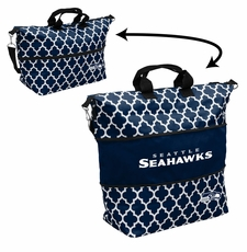 Seattle Seahawks  - Expandable Tote (patterned)