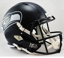 Seattle Seahawks Full-Size Deluxe Replica Speed Helmet