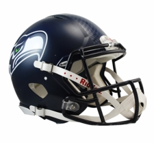 Seattle Seahawks HydroFX Revolution Speed Riddell Authentic Helmet