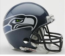 Seattle Seahawks Riddell Replica Mini Helmet