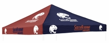 South Alabama Jaguars Navy / Red Logo Tent Replacement Canopy