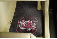 South Carolina Gamecocks 2-Piece Carpeted Car Mats Front Set