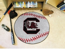 "South Carolina Gamecocks 27"" Baseball Floor Mat"