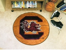 "South Carolina Gamecocks 27"" Basketball Floor Mat"