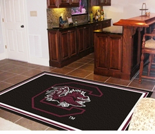 South Carolina Gamecocks 4'x6' Floor Rug