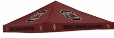 South Carolina Gamecocks Garnet Logo Tent Replacement Canopy