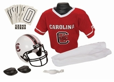 South Carolina Gamecocks Deluxe Youth / Kids Football Helmet Uniform Set