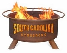 South Carolina Gamecocks Outdoor Fire Pit