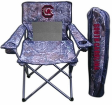 South Carolina Gamecocks Realtree Camo Mesh Chair