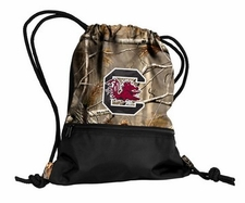 South Carolina Gamecocks Realtree Camo String Pack / Backpack