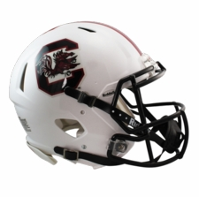 South Carolina Gamecocks Riddell Revolution Speed Authentic Helmet