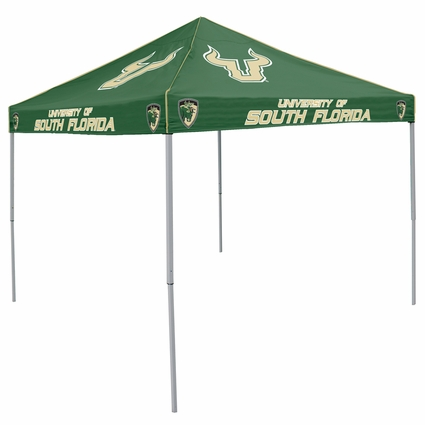 South Florida Bulls Colored Logo Canopy Tailgate Tent