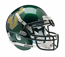 South Florida Bulls Green Schutt XP Authentic Helmet