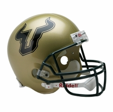 South Florida Bulls Riddell Deluxe Replica Helmet