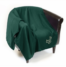 South Florida Bulls Sweatshirt Throw Blanket