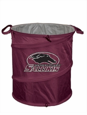Southern Illinois Salukis Tailgate Trash Can / Cooler / Laundry Hamper
