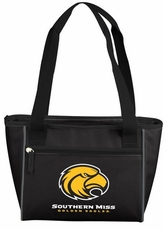 Southern Miss Golden Eagles 16 Can Cooler Tote