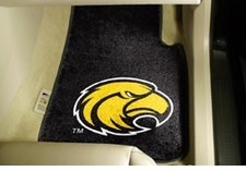 Southern Miss Golden Eagles 2-Piece Carpeted Car Mats Front Set