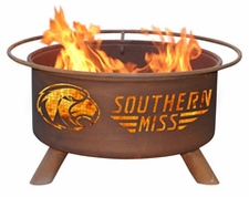 Southern Miss Golden Eagles Outdoor Fire Pit
