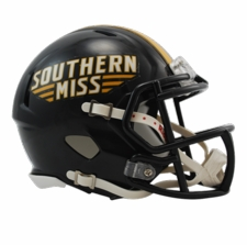 Southern Miss Golden Eagles Riddell Speed Mini Helmet