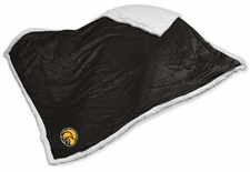 Southern Miss Golden Eagles Sherpa Blanket