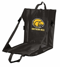 Southern Miss Golden Eagles Stadium Seat (Black)