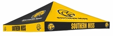 Southern Miss Golden Eagles Yellow / Black Checkerboard Logo Tent Replacement Canopy