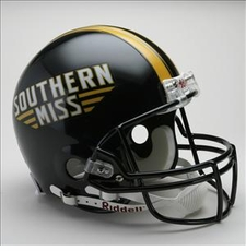 Southern Mississippi Golden Eagles Riddell Pro Line Authentic Helmet