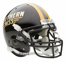 Southern Mississippi Golden Eagles Schutt Authentic Full Size Helmet
