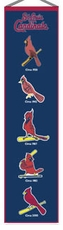 St. Louis Cardinals Wool 8x32 Heritage Banner
