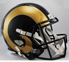 St. Louis Rams Full-Size Deluxe Replica Speed Helmet