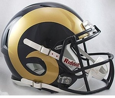 St. Louis Rams Revolution Speed Riddell Authentic Helmet