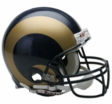 St. Louis Rams Riddell Full Size Authentic Helmet