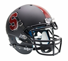 Stanford Cardinal Black Schutt XP Authentic Helmet