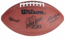 Super Bowl 21 XXI Wilson Official NFL Game Football : New York Giants vs. Denver Broncos