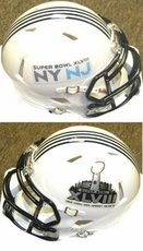 Super Bowl 48 XLVIII Riddell NFL Mini Speed Helmet