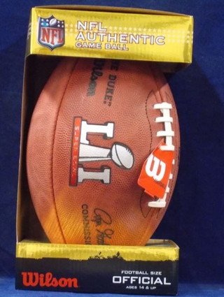 Super Bowl 51 Official Game Football