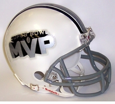 Super Bowl MVP Riddell NFL Replica Mini Helmet