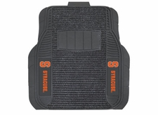 Syracuse Orange 2-Piece Deluxe Car Mats