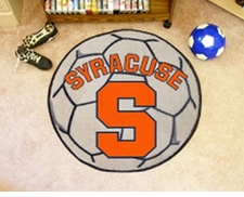 "Syracuse Orange 27"" Soccer Ball Floor Mat"