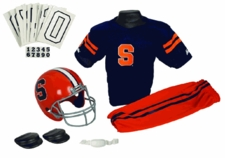 Syracuse Orange Deluxe Youth / Kids Football Helmet Uniform Set