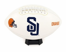Syracuse Orange Fotoball Signature Embroidered Full Size Football