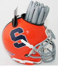 Syracuse Orange Helmet Desk Caddy