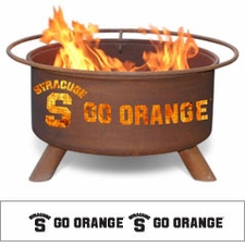 Syracuse Orange Outdoor Fire Pit