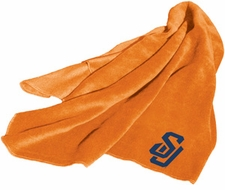 Syracuse Orangemen Fleece Throw (Orange)